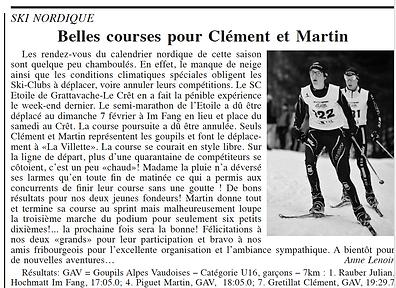 Journal du Pays dEnhaut - Article du 11.