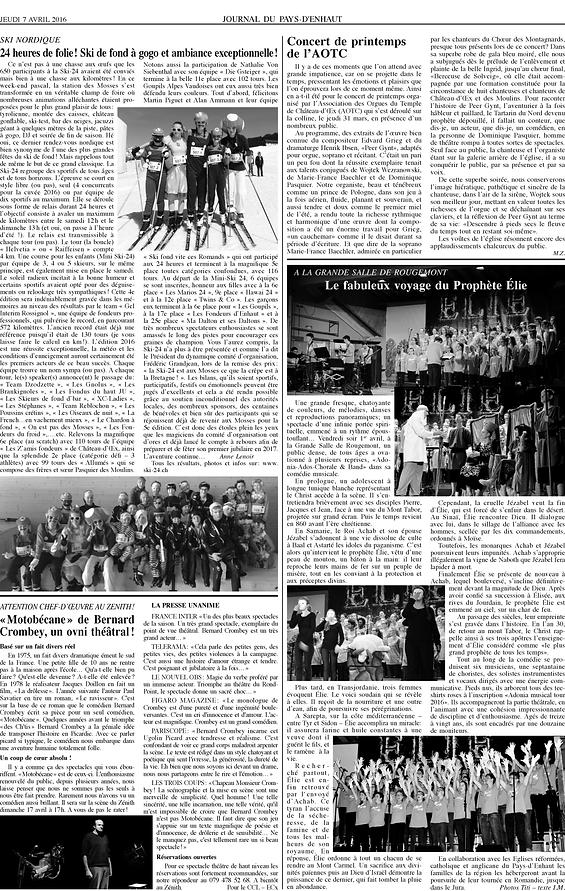 Journal du Pays dEnhaut - Article du 07.