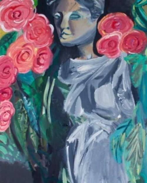 Aphrodite with Roses