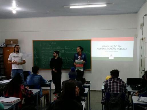 Quarto Desafio FENECAP no Centro Acadêmico de Administração Pública (CAAP - CESFI - UDESC)