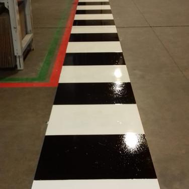 Safety walkways and zebra crossings installed in Wednesbury, West Midlands