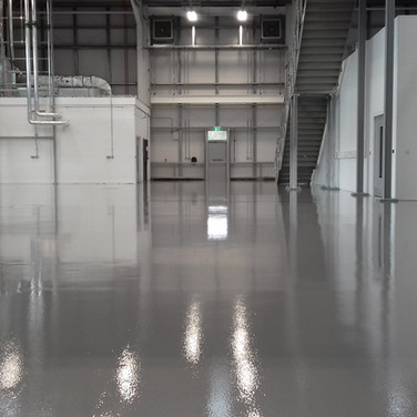 Floor painted for a science park in Oxford