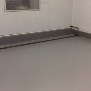 Epoxy resin coating installed for a dry curing company in Chichester