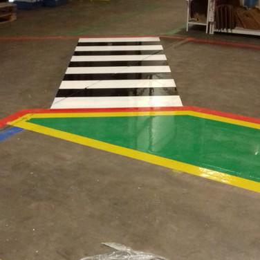 Safety walkways and zebra crossings installed in Wednesbury, West Midla