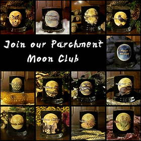 Wicked House Parchment Moon Club: Full Moons, monthly, witchery, altar, ritual