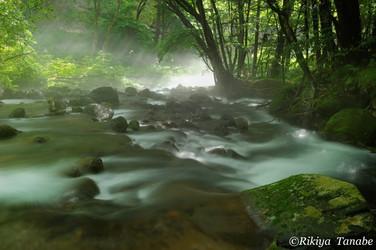 「流れの彼方」 栃木県・塩谷町