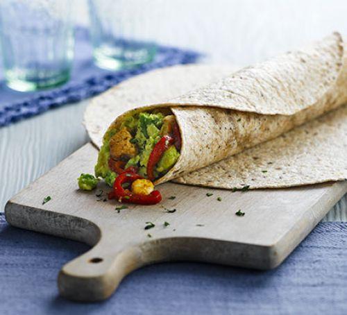 Spicy Avocado Wraps
