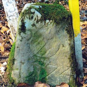 Fast 450 Jahre alter Grenzstein gefunden