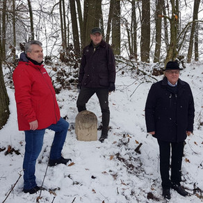 Festakt an der Landhege Rothenburg