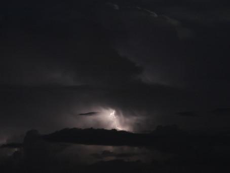 Sky over Scottsdale - International Space Station,  Fireworks, Lightning