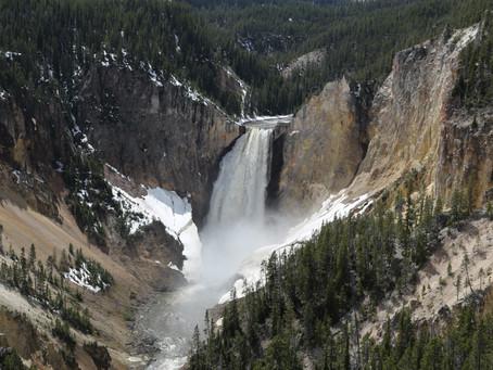 Lower Falls - Norris Geyser Basin