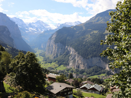 Wengen - where the mountain views quench your soul