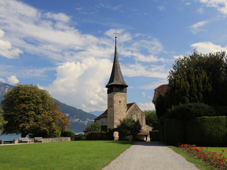Spitz Castle Church      Spiez, Switzerland
