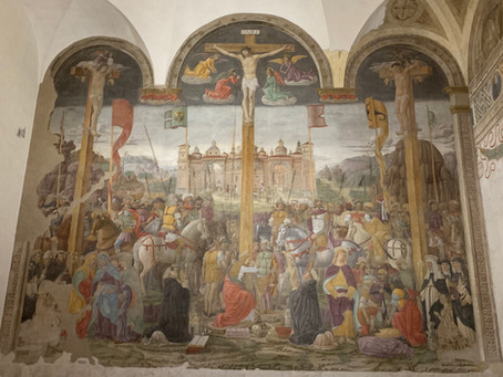 The Crucifixion -  Santa Maria delle Grazie - Milan, Italy