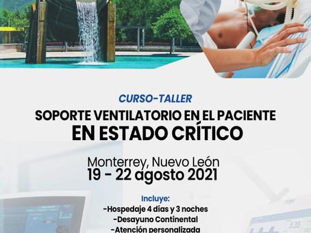 CURSO - TALLER SOPORTE VENTILATORIO EN EL PACIENTE CRÍTICO