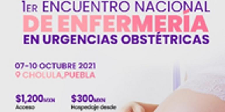 I ENCUENTRO NACIONAL DE ENFERMERIA EN URGENCIAS OBSTÉTRICAS