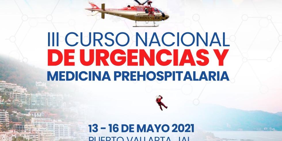 III Curso Nacional De Urgencias Y Medicina Prehospitalaria