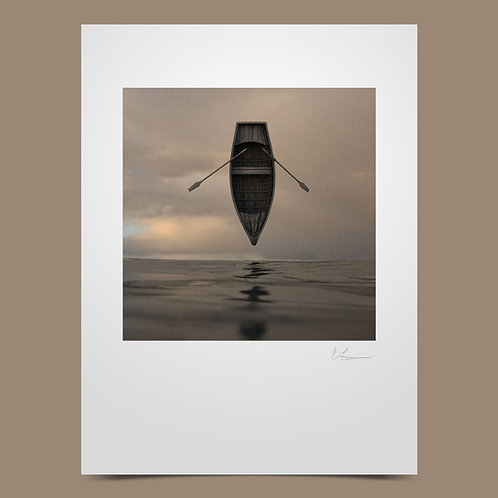 Autographed Limited Edition Overboard Lithograph