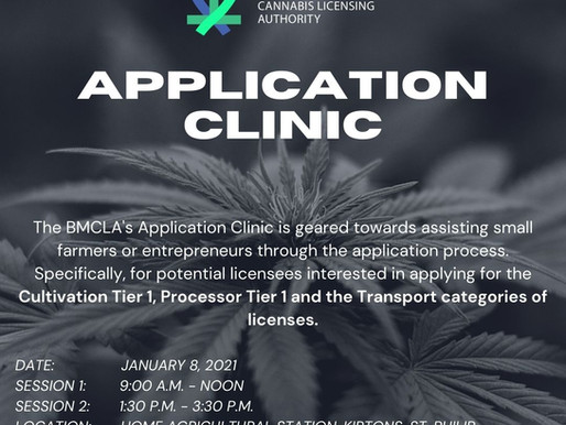 Application Clinic in January 2021