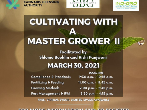 Second Round of Master Grower Series