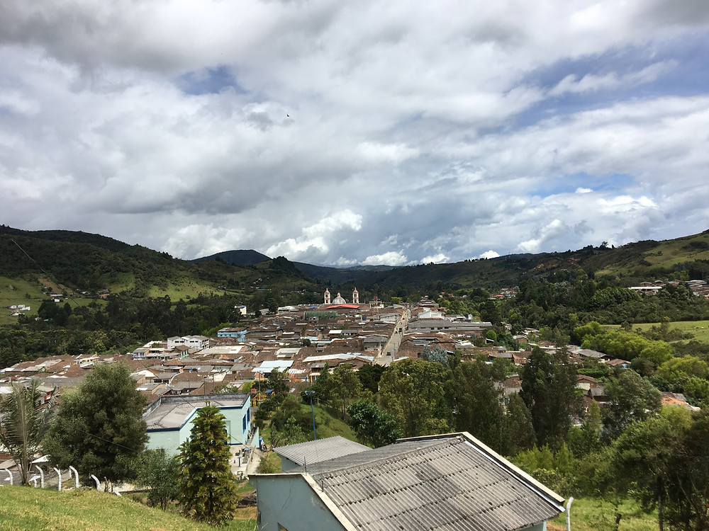 The Colombian countryside