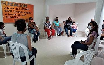 Foto encuentro madres Fundacion Talentos