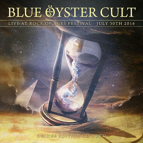 Blue Oyster Cult - Live At The Rock Of Ages Festival 2016 (CD+DVD)