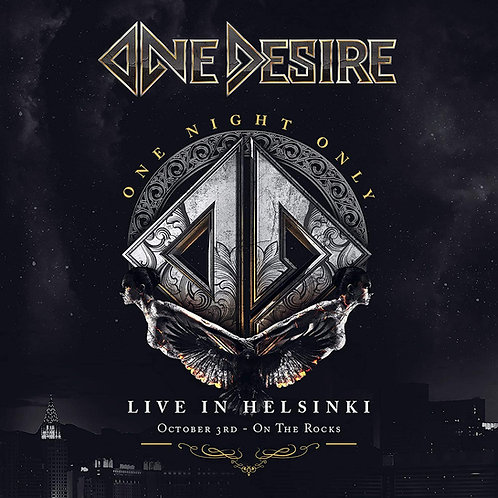 One Desire - One Night Only (CD+DVD)