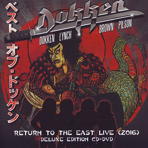 Dokken - Return To The East Live (2016) CD+DVD