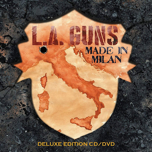L.A. Guns - Made In Milan CD+DVD
