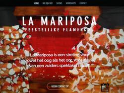 website La Mariposa
