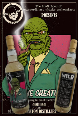 label whisky The Creature