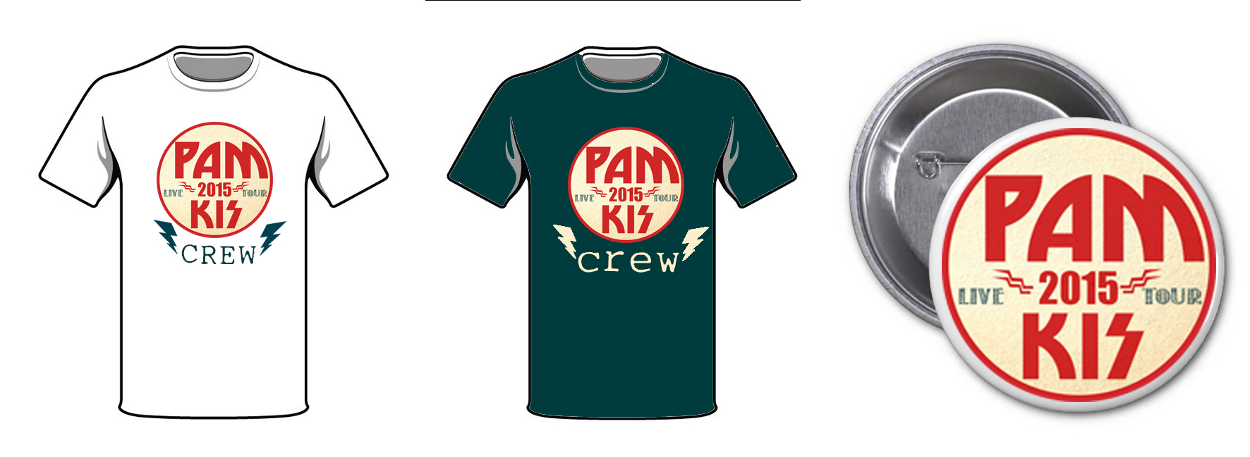 Shirt/button Concept Pam Kis