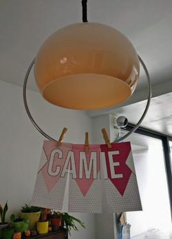 Geboortekaartje Camie