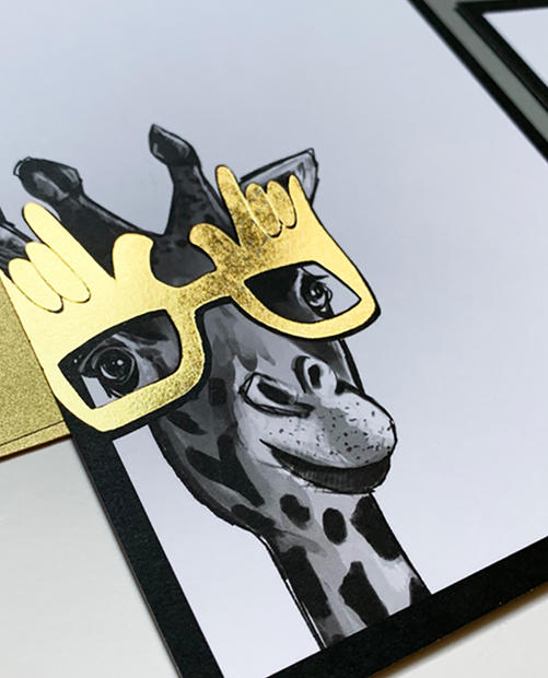 Spirit Animal Birthday Notecards
