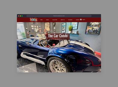 The Car Condo's Website