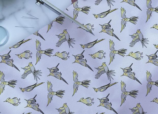 Parakeets Pattern
