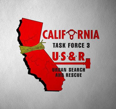California Task Force 3 Logo Redraw