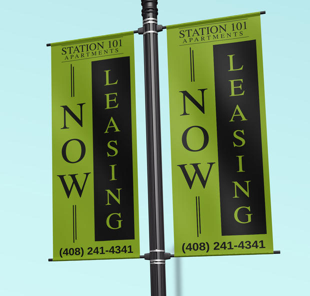 Station 101 Apartment Banners