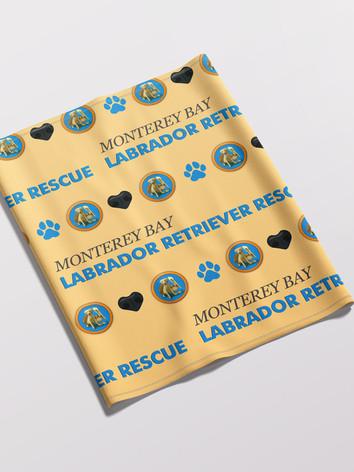 Monterey Bay Labrador Retriever Rescue Buff Mask
