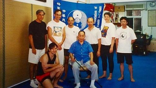 Taiwan 1999 - Avec Maître Wang Yan Nian