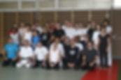 Participants au Martial Art Show Case