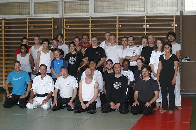 Participants au Martial Art Show Case