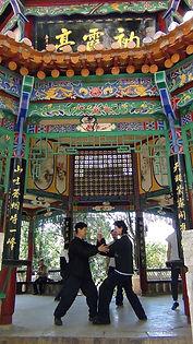 Taiji Quan - YangChengLong et Fabian - KunMing