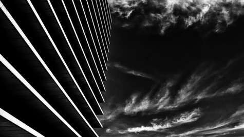 Lines Against the Clouds