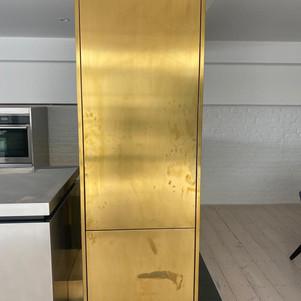 Brass kitchen unit-Before