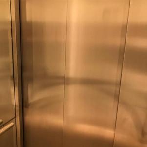 Internal lift door skins