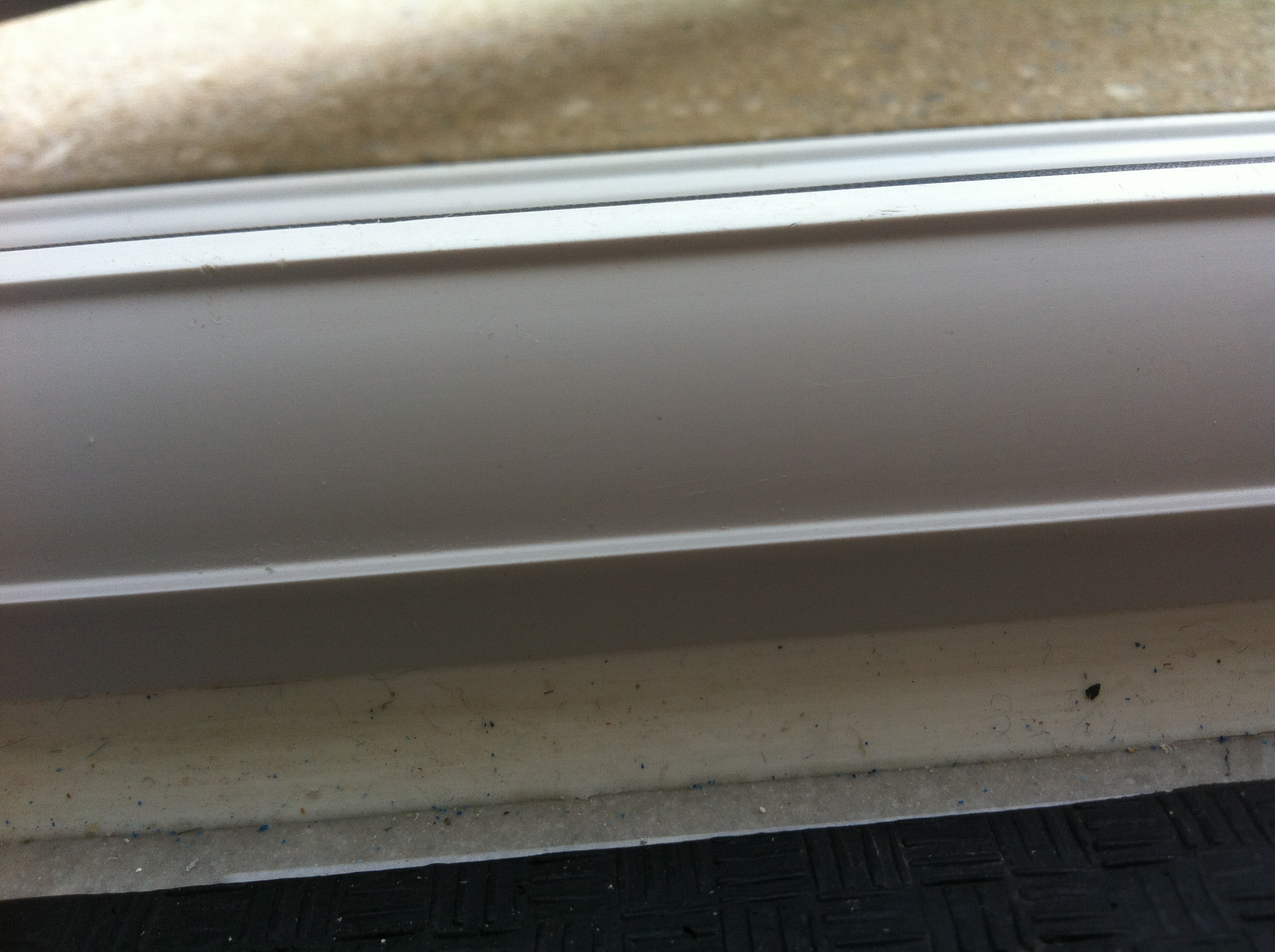 uPvc damaged window frame - After
