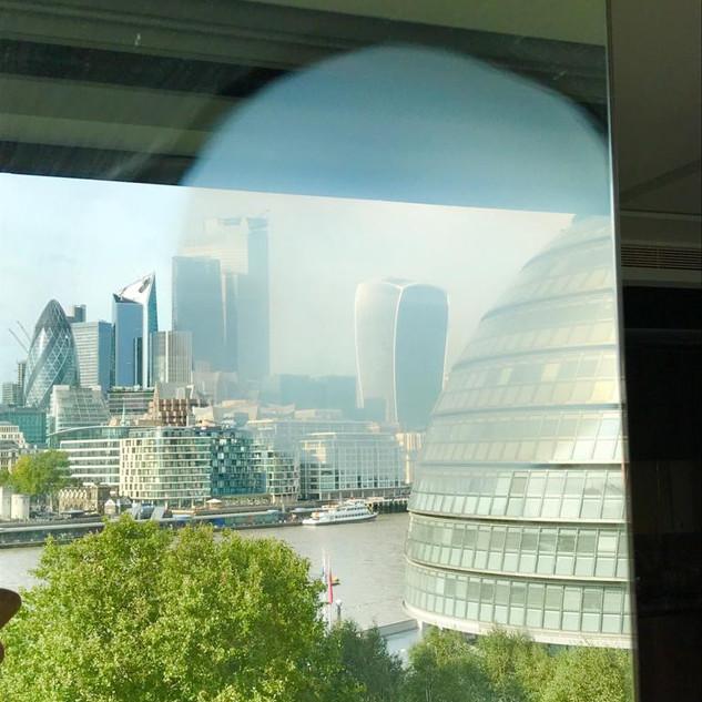 Central London glass repair-Before