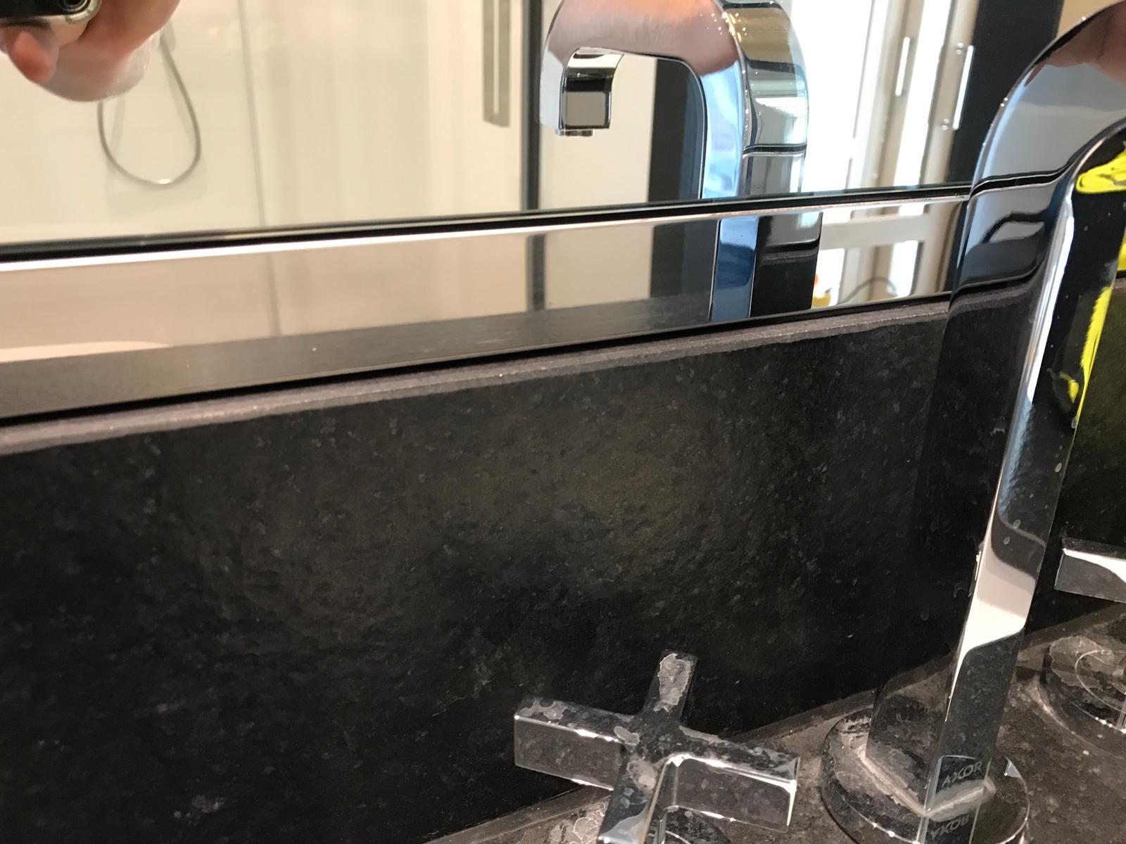 mirror trim- restored